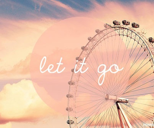 let it go, sky, and quotes image