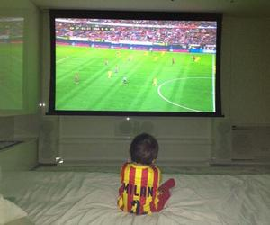 milan, shakira, and Barca image