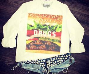fashion, drugs, and girl image