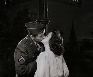 kiss and retro image