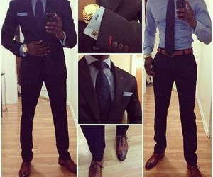 man, suit, and sexy image
