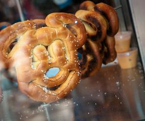 disney, food, and pretzel image