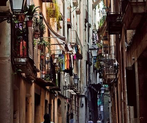 Barcelona, spain, and street image