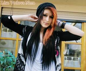 dyed hair, scene, and site model image