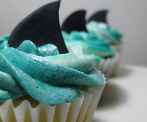 cupcakes and shark image