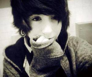 cute, boy, and emo image