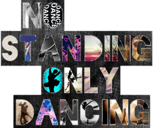 dance, quote, and tumblr image