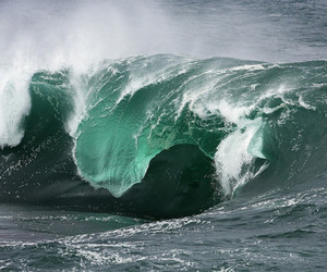 ocean, waves, and photography image