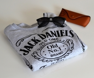 fashion, jack daniels, and sunglasses image