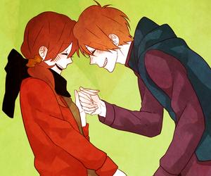 anime, love, and art image