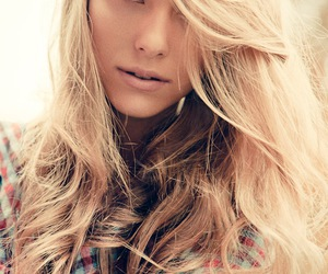 blonde, fashion, and model image