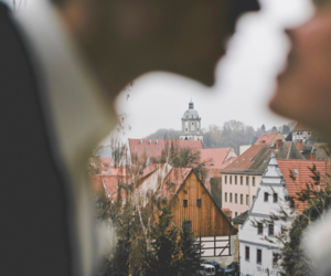 city, europe, and couple image
