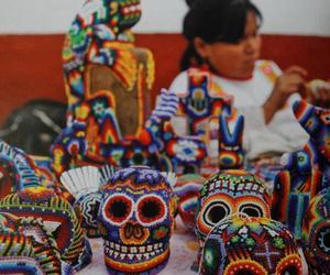 arte, calavera, and méxico image