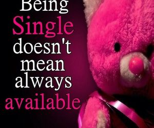 single and available image