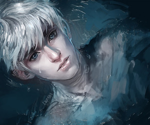 jack frost, boy, and art image