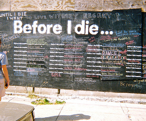 art, before i die, and dying image