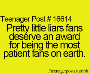 pll, pretty little liars, and fan image