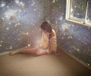 alone, fantasty, and girl image