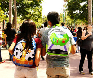 backpack, bag, and buzz image