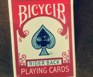 bicycle, cards, and cool image