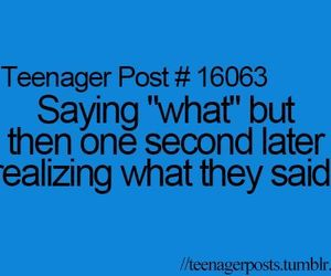 teenager post, true, and what image