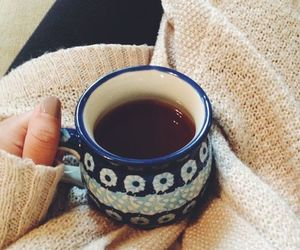 coffee, winter, and tea image