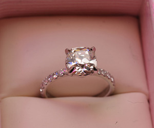 diamonds, engagement ring, and jewelry image