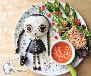food, Halloween, and spooky image