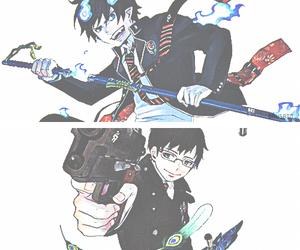 anime, manga, and ao no exorcist image