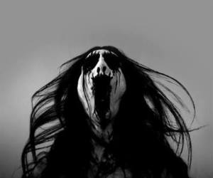 Black Metal, corpse paint, and long hair image