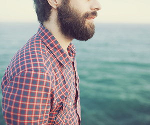boy, beard, and hipster image