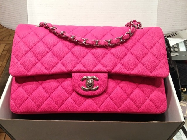 Hot Pink Chanel Bag Replica
