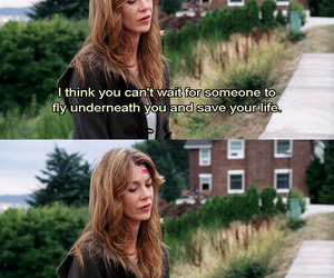 quote, grey's anatomy, and life image