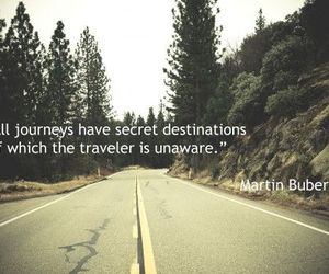 journey, quote, and road image