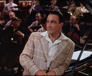 Gene Kelly and singin in the rain image