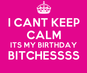 birthday and bitches image