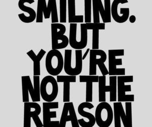smile, quotes, and reason image