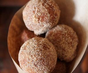 donut, cinnamon sugar, and quark bällchen image