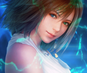 game, girl, and final fantasy x image