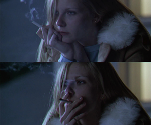 smoke, cigarette, and Kirsten Dunst image