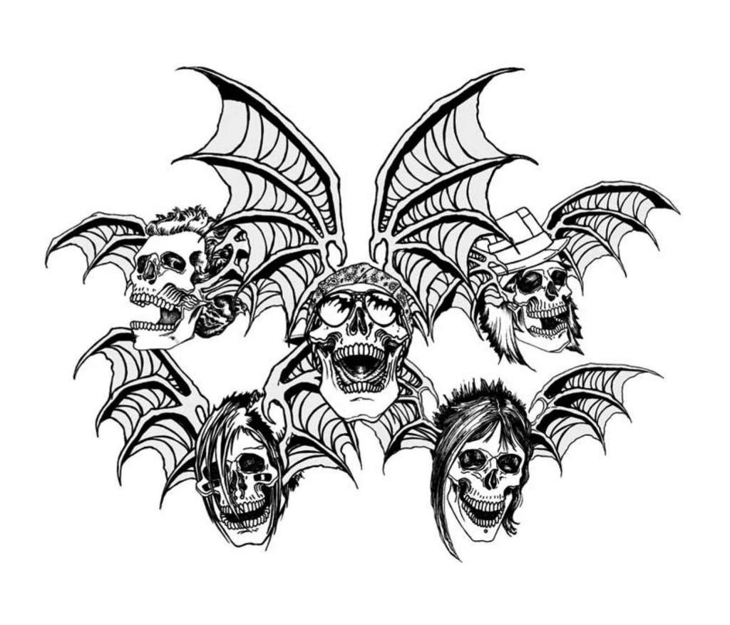 Avenged Sevenfold Winged Skull Wallpaper And Picture Imagesize
