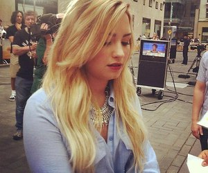 beauty, demi lovato, and hair image