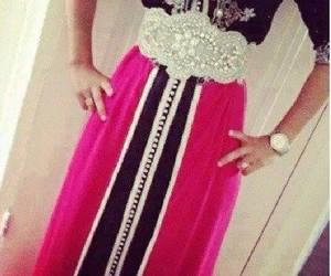 dress, morocco, and pink image