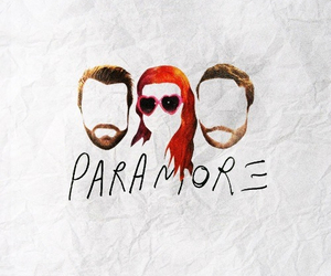 bands, paramore, and love image
