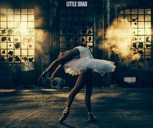 ballerina, danse, and light image