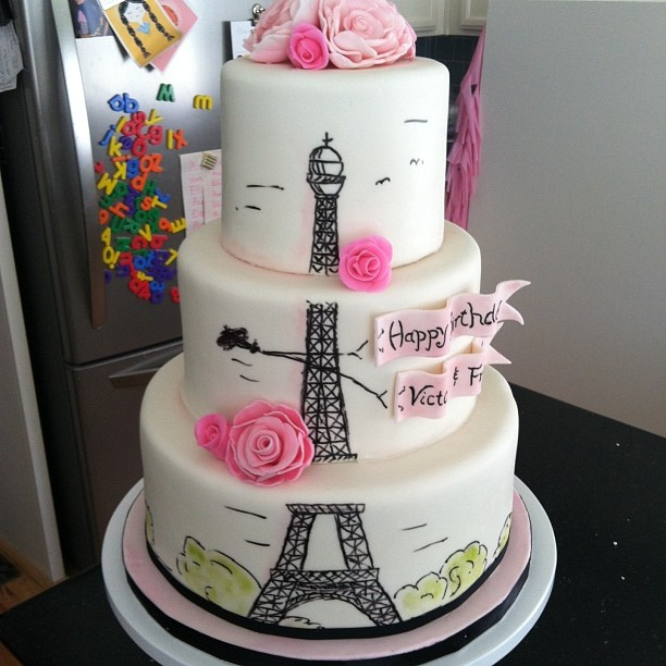 Groovy Eiffel Tower Loving Uploaded By Frawberry On We Heart It Personalised Birthday Cards Akebfashionlily Jamesorg