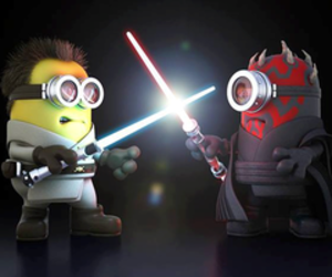 minions star wars and puchis que pelado image