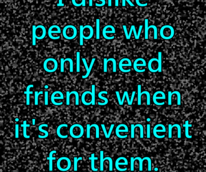 convenience, life, and fake friends image