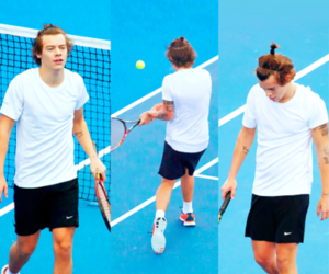 Harry Styles, one direction, and tennis image