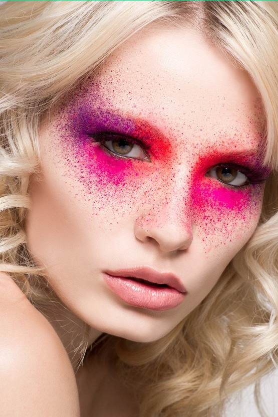 38 Images About Maquillaje Artistico On We Heart It See More About - Avant-garde-makeup-themes